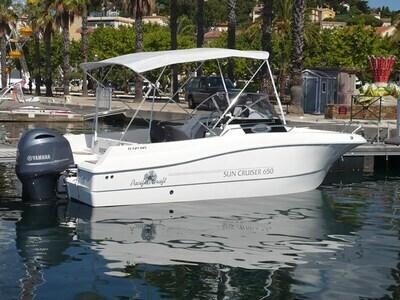 Location bateau à moteur PACIFIC CRAFT 650 SC