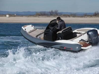 Location bateau à moteur semi-rigide ADRENALINA 7.0